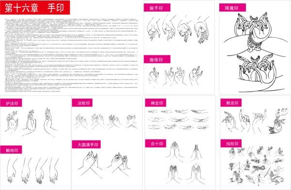 藏传佛教手印_素材中国sccnn.com