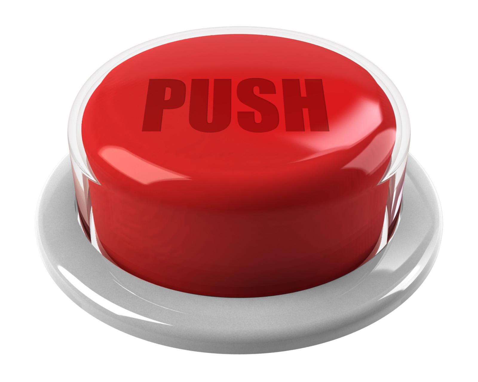 红色立体按钮