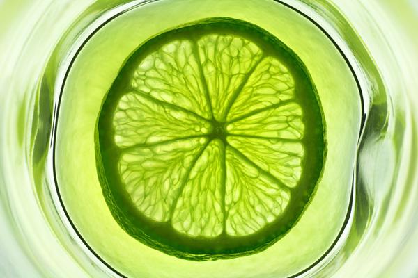 绿色柠檬片1