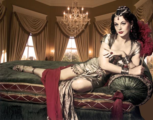 外国妖艳古典美女