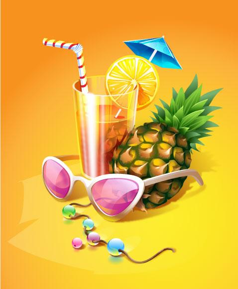 夏日清凉饮品