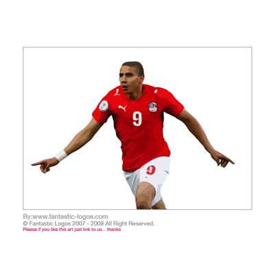 足球运动员矢量