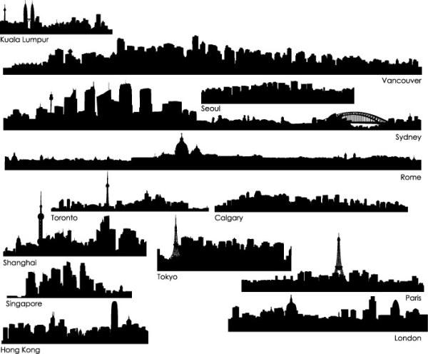 0 点 关键词: 世界各城市剪影矢量素材,城市剪影,楼体,建筑,吉隆坡