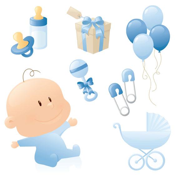 可爱婴儿主题_素材中国sccnn.com