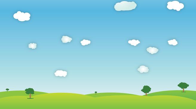 卡通天空 背景