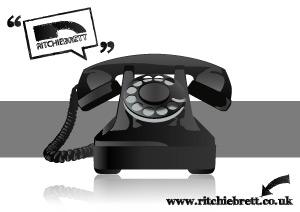 老式电话矢量