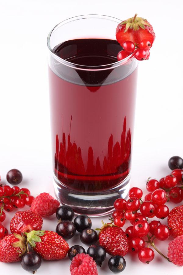 果汁与水果