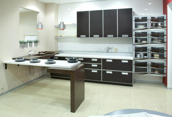 现代厨房效果图7