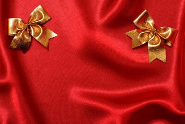 红色布与蝴蝶结1