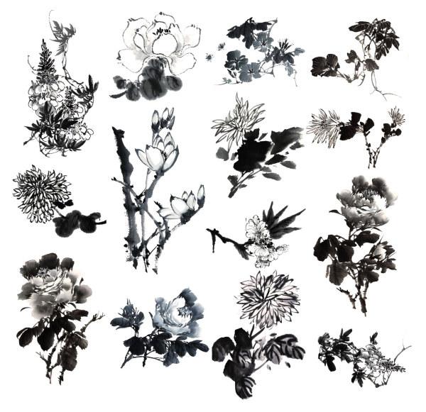 Chinese Art Paintings Flower
