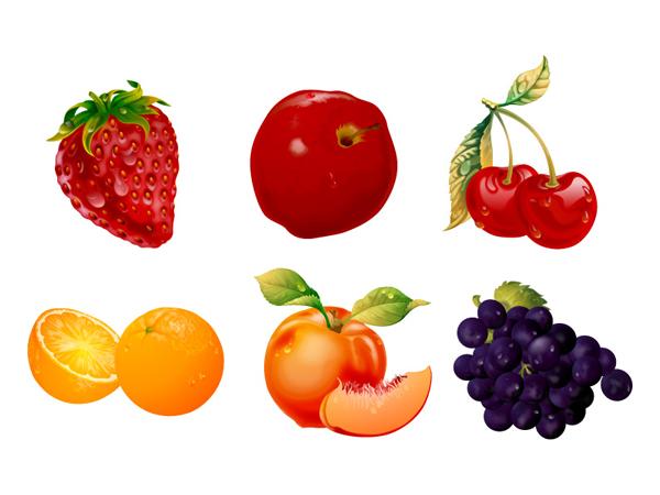 超精美水果矢量