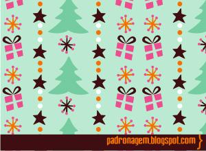 圣诞背景图案2