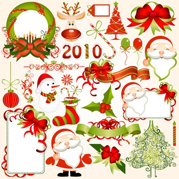 2010圣诞节元素
