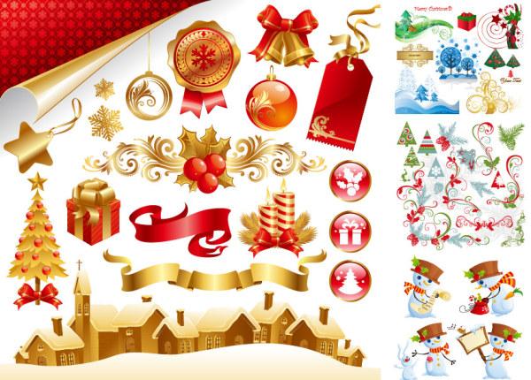 精美圣诞节素材