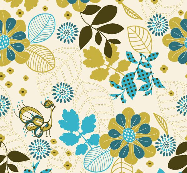 0 点 关键词: 孔雀植物背景矢量素材,孔雀,植物,树叶,花朵,可爱,背