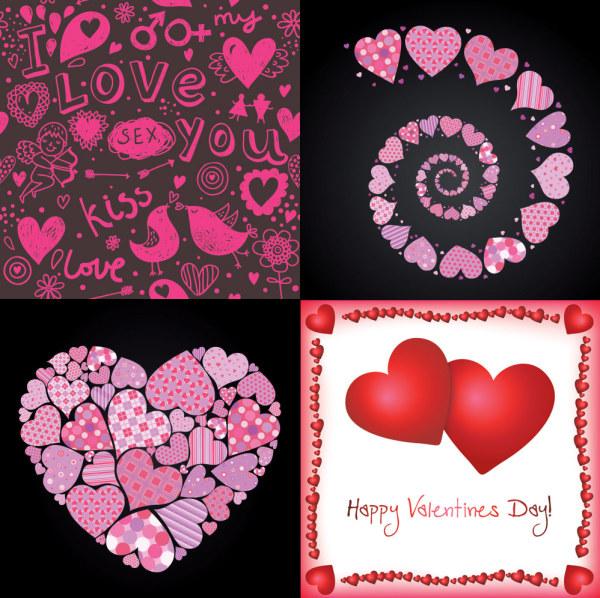 心形,桃心,旋转,love,图形,边框,爱情,i,love,you,爱神丘比特,手绘
