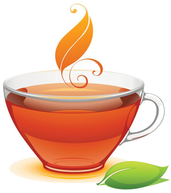 一杯茶矢量