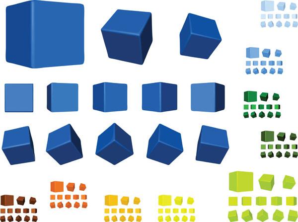 正方体的折法图解