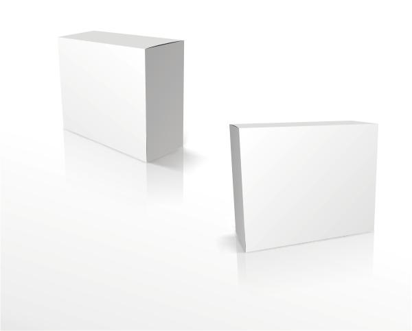 方形空白包装盒_矢量设计元素 - 素材中国_素材cnn
