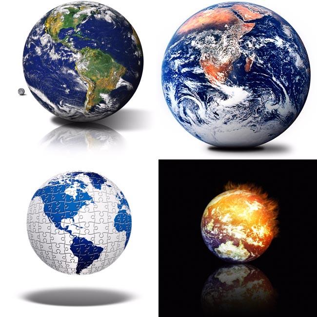 地球高清图片_地图 - 素材中国