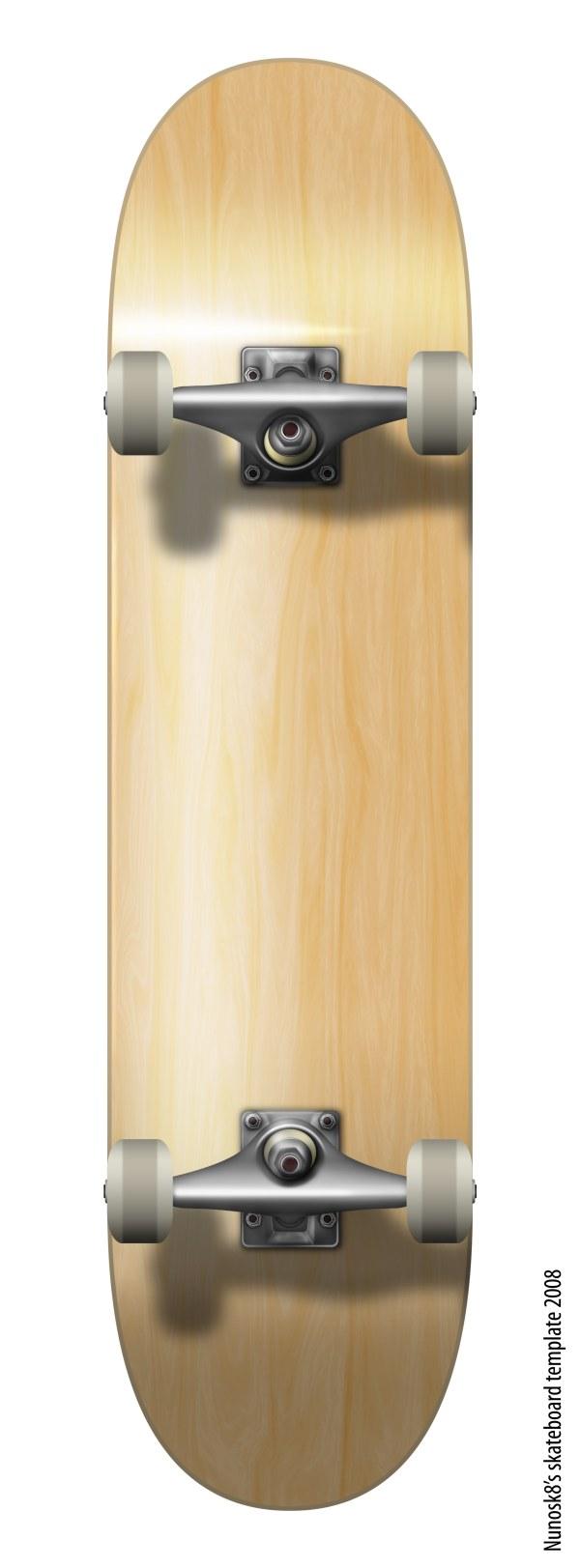 滑板psd分层素材