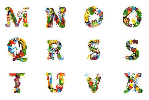 艺术囹�a�b&��#�e+��_可爱的英文字母