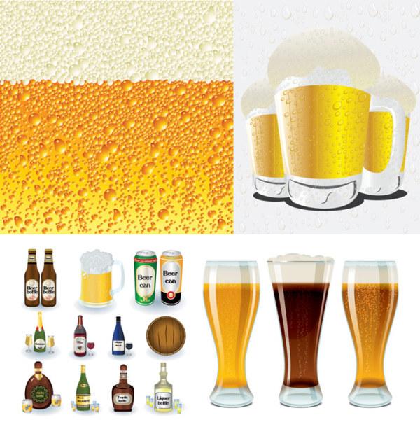 啤酒系列矢量