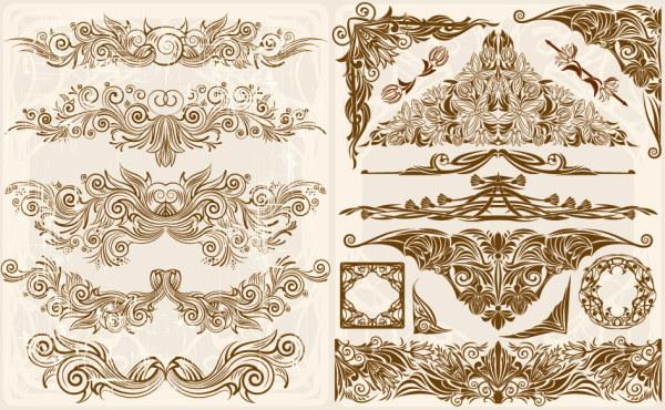 素材分类: 矢量花纹所需点数: 0 点 关键词: 欧式华丽复古花纹矢量素
