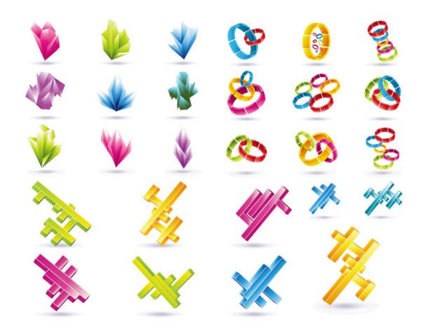 图形设计_图形设计字母变异_蝴蝶的创意图形设计
