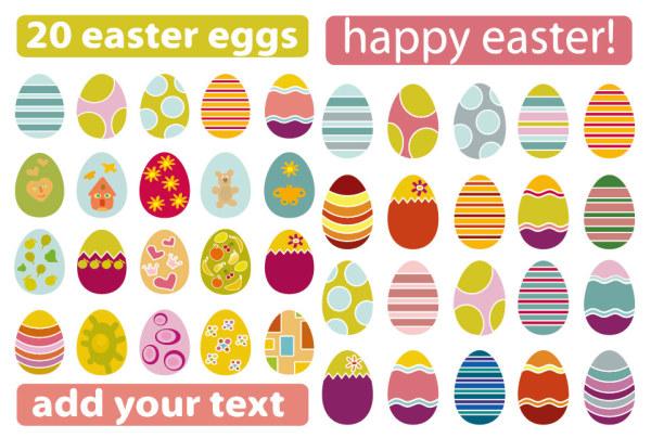 画彩蛋的步骤和图案