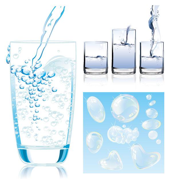 动感的水矢量