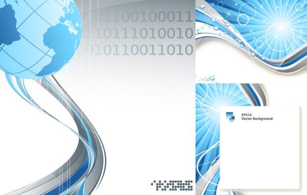科技感线条背景_素材中国sccnn.com