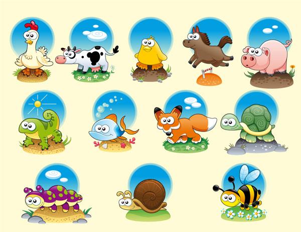 素材分类: 矢量卡通动物 所需点数: 0点