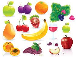 常见水果矢量