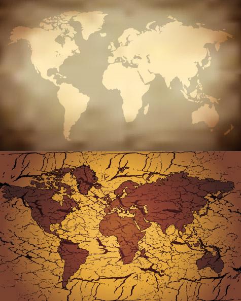 旧地图矢量素材_矢量地图 - 素材中国_素材cnn