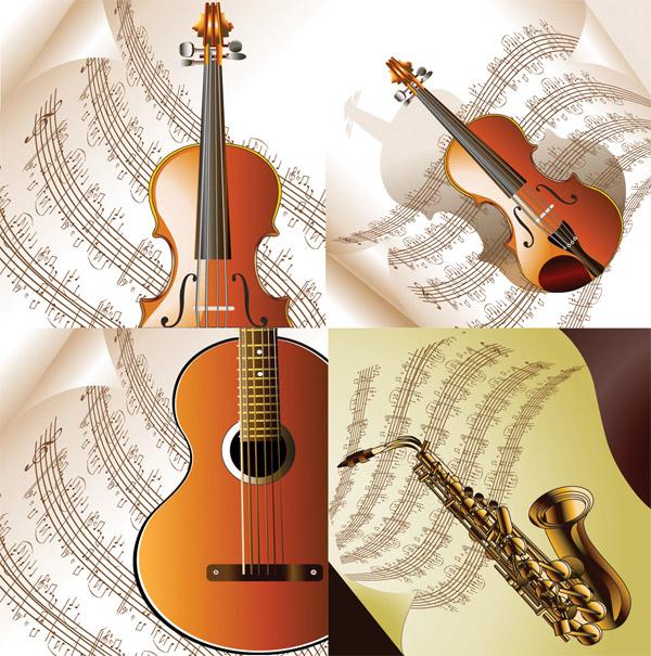 五线谱与乐器