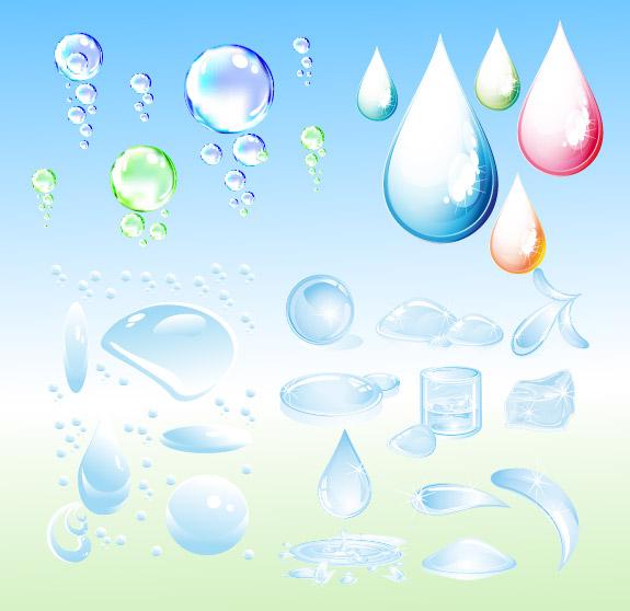 水珠水泡水滴