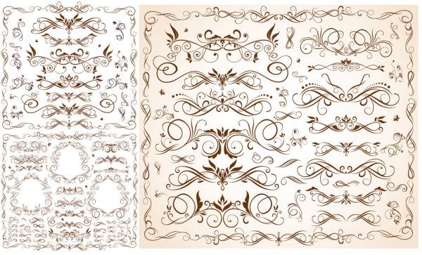 0 点 关键词: 精致条纹花边矢量素材,花边,条纹,边框,枝叶,曲线,流动