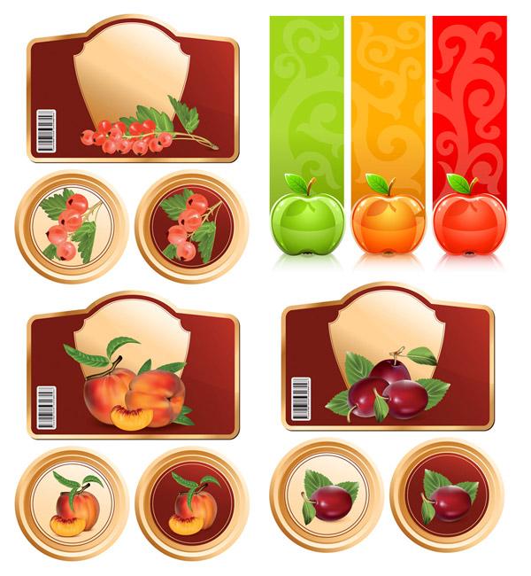 水果与图形矢量