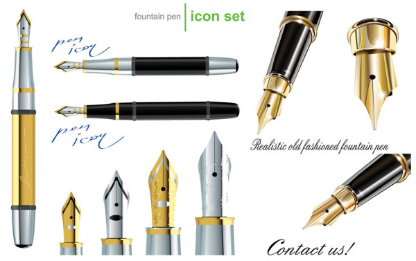 钢笔矢量素材