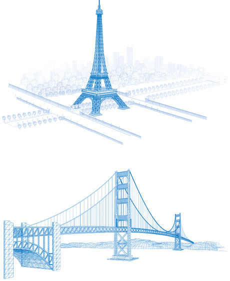 architectural drawings of famous buildings. Architectural Drawings Of Famous Buildings