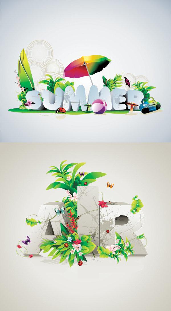 字体设计海报