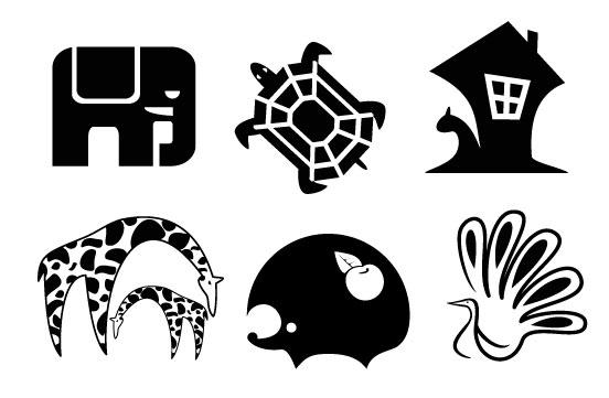 动物图形分类图