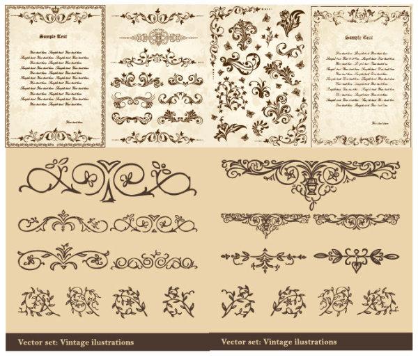 素材分类: 矢量花边所需点数: 0 点 关键词: 欧式古典花纹矢量素材图片