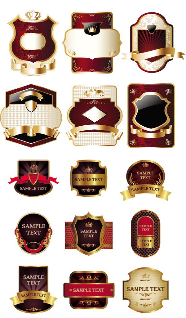 图案,花纹,欧式,复古,样式,背景,樱桃,酒标,图案,纹样,花,皇冠,矢量