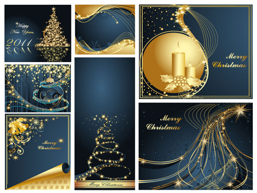 梦幻圣诞背景1