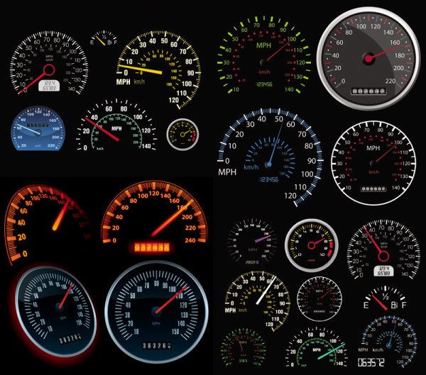 汽车里程速度表 素材中国sccnn Com