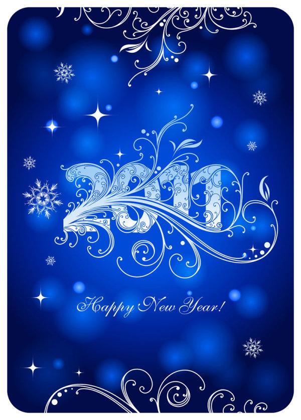 挂历,海报,2011年,星星,枝蔓,花纹,叶子,样式,数字,图案,雪花,2011