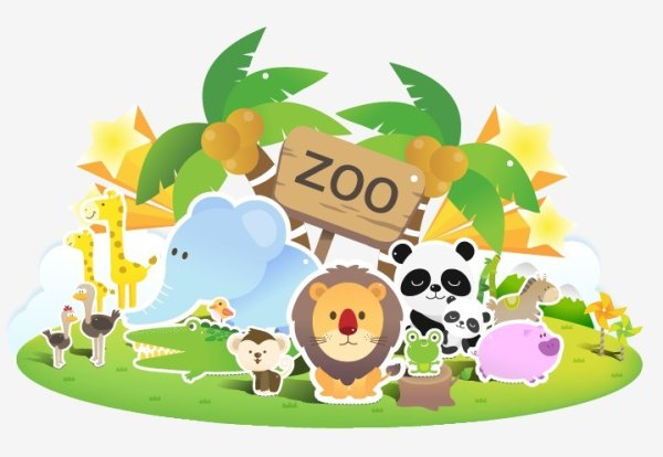 Pics Photos Zoo Animal Cartoon