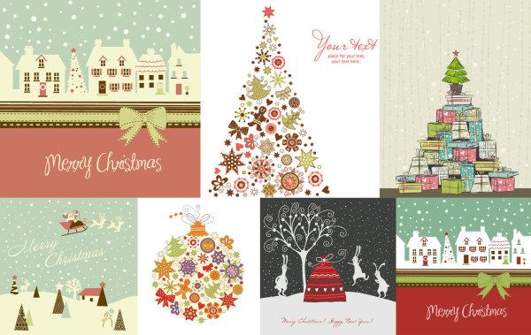 可爱圣诞节主题